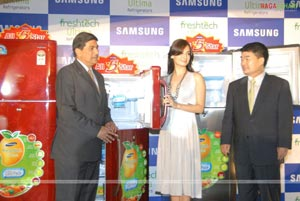 Dia Mirza Launches Samsung Largest 5 Star Refregerator Range