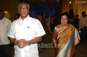 MAA TV Chairman Murali Krishnam Raju Daughter Swathi-Karthik Raju Wedding Function