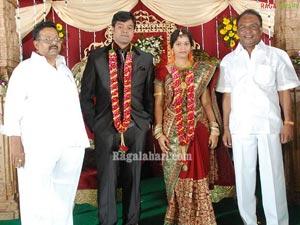 Muthyala Subbaiah Son Wedding Reception