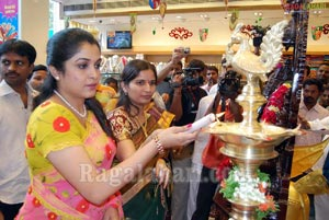 Ramya Krishna Launches Wedding Sarees Exhibition Sale at Chennai Shopping Mall