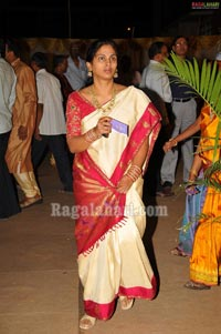 Hyderabad Architect Suresh Manikonda-Prarthana Wedding Function
