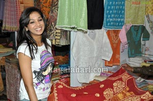 Ritu Barmecha at Cotton and Silk Park exhibition launch