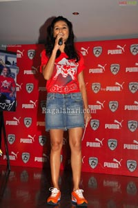 PUMA Unveils Deccan Chargers Team Jersey and Fanwear