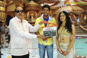 Allari Naresh-Richa Panai Film Muhurat
