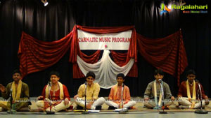 Carnatic Music program at Sri Siva Vishnu Temple, Lanham, MD