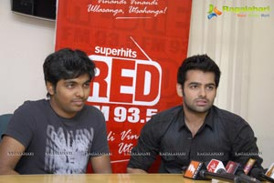 Handsome Hero Ram at 93.5 Red FM for Endukante Premanta Promotions