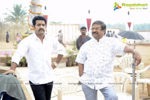 Dammu Working Stills