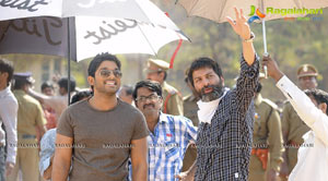 Allu Arjun's Julaayi Working Stills