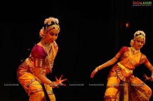 Divya Nair & Geetha Poojitha Bharatanatyam Arangetram at Ravindra Bharathi, Hyd