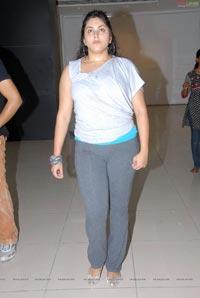 Namitha Rehearsing for Santosham Film Awards