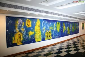 Dr. Snehalata Prasad Art Exhibition at Muse Art Gallery