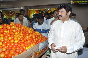 Balakrishna opens Pure O Naturals outlet at Jubliee Hills