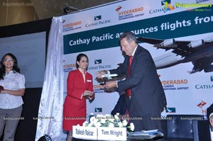 Cathay Pacific Hyderabad Hong Kong Flight