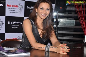 Miss World 1997 Diana Hayden at Heal a Child Foundation