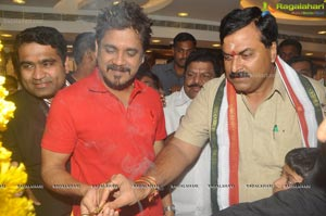 Akkineni Nagarjuna launches Kukatpally Kalyan Jewellers