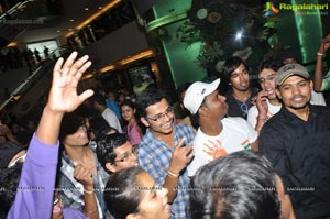 Rock Foundation Flash Mob at GVK One Hyderabad