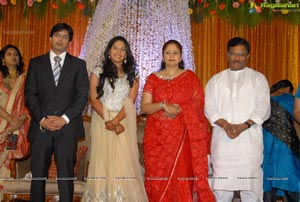 Subhashini's Daughter Pooja Priyanka Wedding Photos