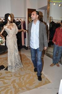 Tarun Tahiliani Cocktail Party at his Hyderabad Design Studio
