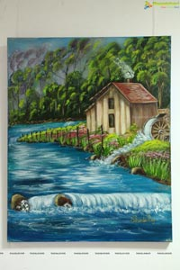 Painting Exhibition at Tourism Bhavan