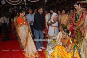 Swapna Dutt-Prasad Varma Wedding Function