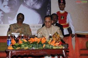 Governor ESL Narsimhan launches the book