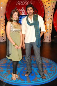 Rana-Richa at Udayabhanu's Nuvvu Nenu TV Show