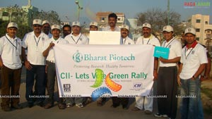 Green Rally at Necklace Road