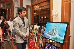 Painting Exhibition At Taj Krishna