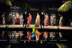 Ram Charan Tej Walks the Ramp at Taj Khazana Fashion Show