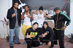 U.S Hip-Hop Group Performs For School Children