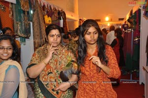 Vitika Launches Exhibition at Satya Sai Nigamagamam