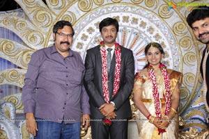 Aryan Rajesh-Subhashini Wedding Reception