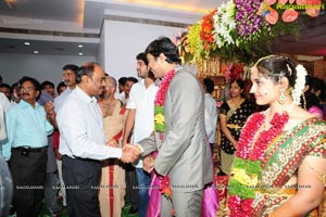 Aryan Rajesh-Subhashini Wedding Function