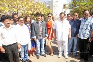 Balakrishna-Parvathi Melton-Eesha Chawla Film Muhurat