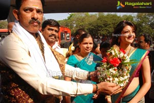 Kajal Launches The Chennai Shopping Mall at Mehdipatnam