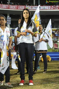 Bengal Tigers-Mumbai Indians Celebrity Cricket League Match at Visakhapatnam