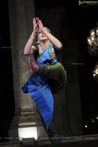 Shobana Dance Performance at Chowmahalla Palace