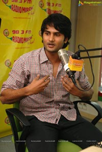 SMS Hero Sudhir Babu at Radio Mirchi