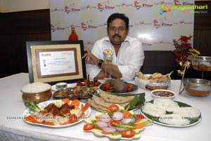 The Spicy Venue Awarded as the Best Andhra Cuisine for 2011