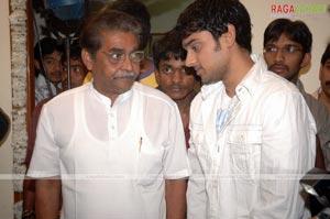 Teja-MS Raju-Sumanth Ashwin Film Muhurat