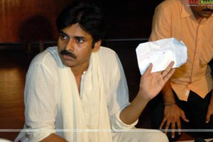 Pawan Kalyan Launches Common Man Protection Force - Press Meet