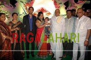DK Aruna Grand Son Craddle Ceremony