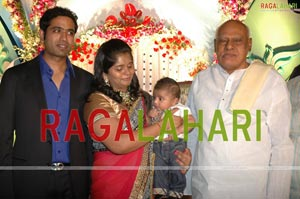 DK Aruna Grand Son Craddle Ceremony