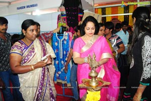 Rajani Launches Bridal Exhibition at Satya Sai Nigamagamam