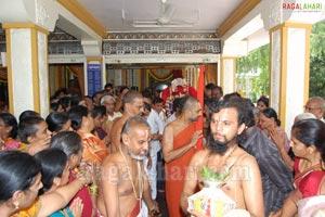 Chinna Jiyar Swamy at Srinagar Venkateswara Swamy Temple