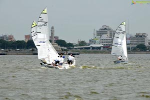 4th Monsoon Regatta Sailing Championship at Hussainsagar, Hyderabad Day 1 Photos