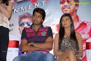 AK Entertainments Banner Action with Entertainment Press Meet