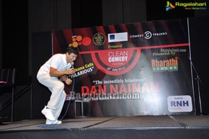 Dan Nainan Clean Comedy Festival 2012 Hyderabad