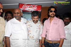 Eega Team at Hyderabad Brahmarambha Theatre
