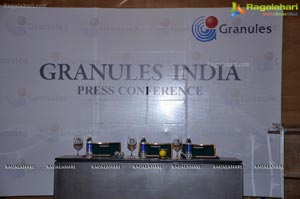 Granules India Q1FY13 Results Announcement at Ameerpet Marigold Hotel